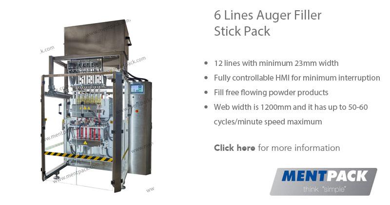 6 Line Auger Filler