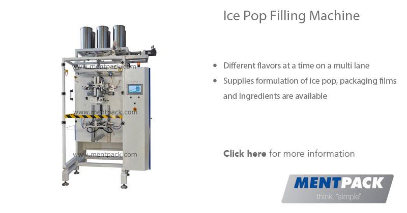 Ice Pop Filling Machine