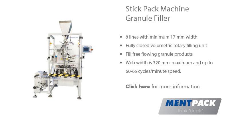 Stick Pack Granule Filler