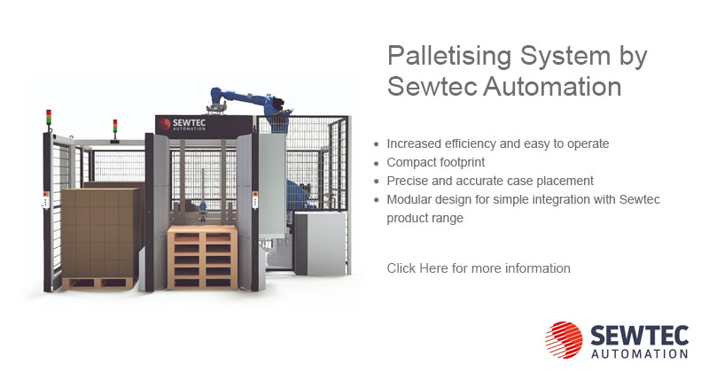Palletising System by Sewtec Automation